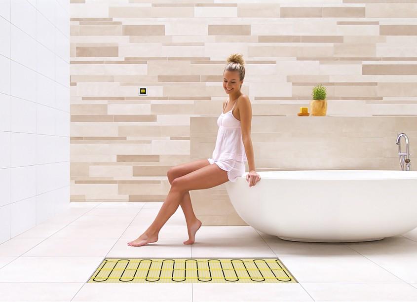 Incalzire prin pardoseala - Covorul de incalzire care intretine atmosfera armonioasa din casa ta