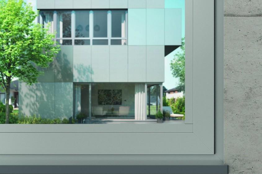 Roto NT Designo - balamaua ascunsa pentru ferestre si usi de balcon cu cercevele mari de