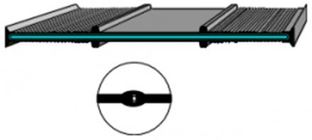 Profile hidroizolante armate - Profile etansare pentru aplicatii de contact cu apa potabila