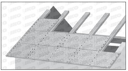 Placi din aschii de lemn orientate (OSB) - Materiale folosite pentru realizarea unei astereli conforme
