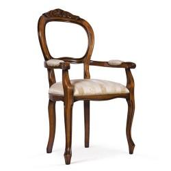 Scaun cu brate - Filippo Intagliata  - Scaune clasice si moderne din lemn masiv