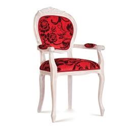 Scaun cu brate - Pesaro  - Scaune clasice si moderne din lemn masiv