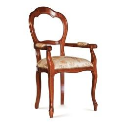 Scaun cu brate -Tre Archi  - Scaune clasice si moderne din lemn masiv