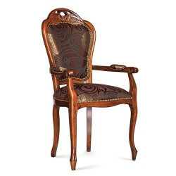 Scaun cu brate - Minerva  - Scaune clasice si moderne din lemn masiv