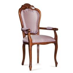 Scaun cu brate - Ambra  - Scaune clasice si moderne din lemn masiv