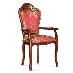 Scaun cu brate - Patrizia  - Scaune clasice si moderne din lemn masiv