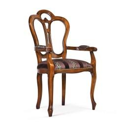 Scaun cu brate - Giglio  - Scaune clasice si moderne din lemn masiv