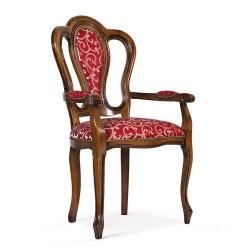 Scaun cu brate - Tibet  - Scaune clasice si moderne din lemn masiv