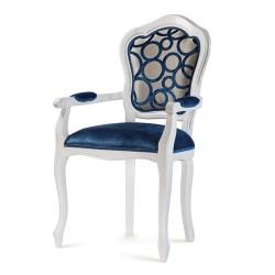 Scaun cu brate - Filippona Liscia  - Scaune clasice si moderne din lemn masiv