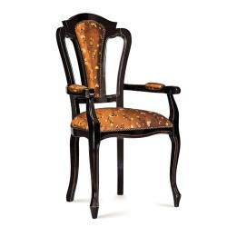 Scaun cu brate - Ilenia  - Scaune clasice si moderne din lemn masiv