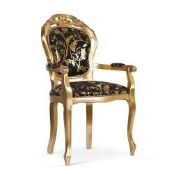 Scaun cu brate - Veneziana 2  - Scaune clasice si moderne din lemn masiv