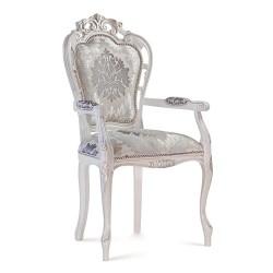 Scaun cu brate - Traforata  - Scaune clasice si moderne din lemn masiv