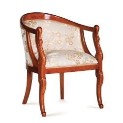 Fotoliu - Pozzetto Cigno  - Scaune clasice si moderne din lemn masiv
