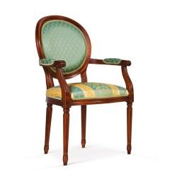 Scaun cu brate - Luigi XVI  - Scaune clasice si moderne din lemn masiv