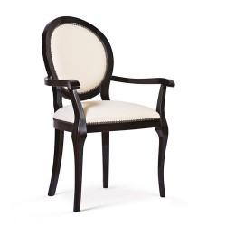 Scaun cu brate - Rebel  - Scaune clasice si moderne din lemn masiv