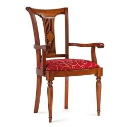 Scaun cu brate - Cleopatra  - Scaune clasice si moderne din lemn masiv