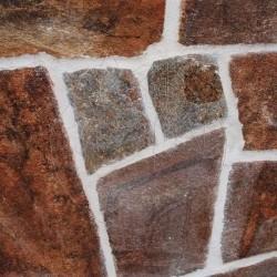Ardezie poligonala Rusty Brown - Piatra naturala poligonala