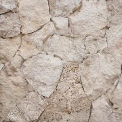 Calcar poligonal Rustic Stone White - Piatra naturala poligonala