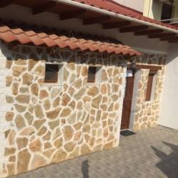 Calcar poligonal Rustic Stone Brown - Piatra naturala poligonala