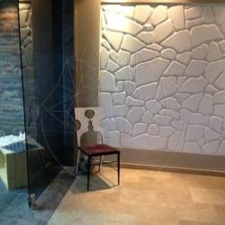 Marmura Poligonala Thassos - Antique 2cm - Piatra naturala poligonala