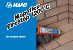 Mastic refractar cu uscare rapida - Mapeflex Firestop - Adezivi universali