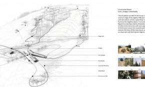 Casa Croock Cup Bow Twis - planuri - Casa de vacanta alimentata de soarele Californian