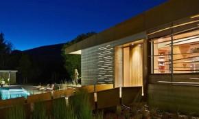 Casa Croock Cup Bow Twis - Casa de vacanta alimentata de soarele Californian