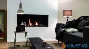 Semineu pe gaz - Faber - Relaxed Premium L - Seminee pe gaz