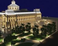 Proiectare luminotehnica Palatul Patriarhiei - Corpuri de iluminat Lucedomotica
