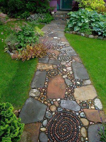 Aleile din gradina si farmecul pietrei naturale - Aleile din gradina si farmecul pietrei naturale