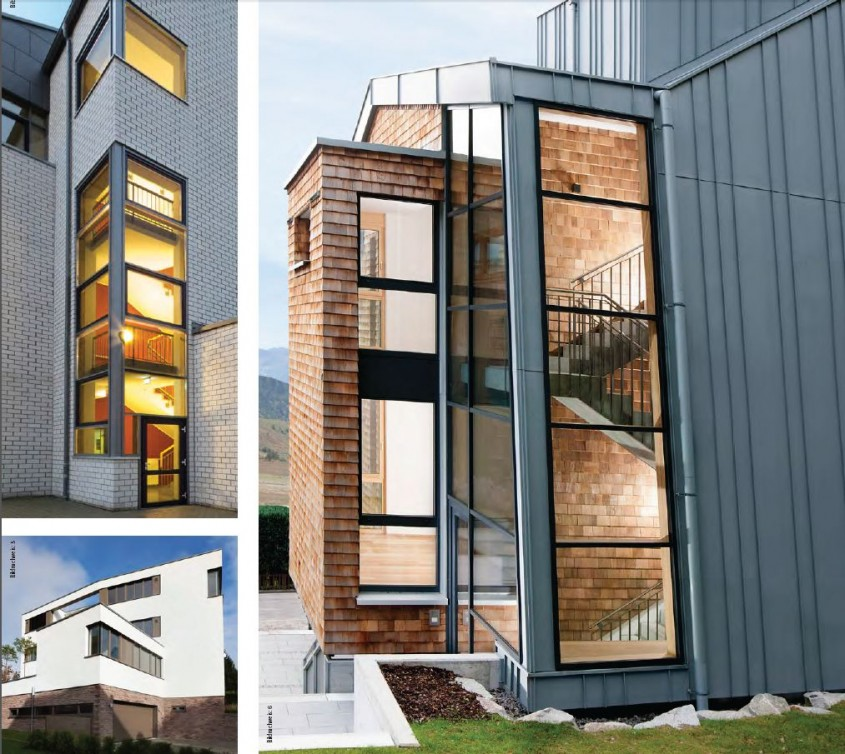 Tamplarie din lemn placat cu aluminiu - solutia ideala pentru case pasive - Tamplarie din lemn