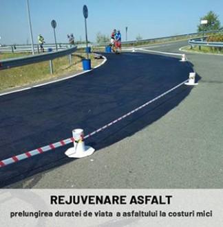Rejuvenare asfalt - prezentare BETON ECOSERV