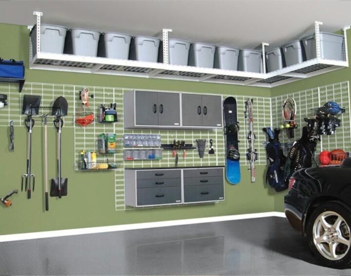 Soluții practice pentru organizarea unui garaj - Soluții practice pentru organizarea unui garaj