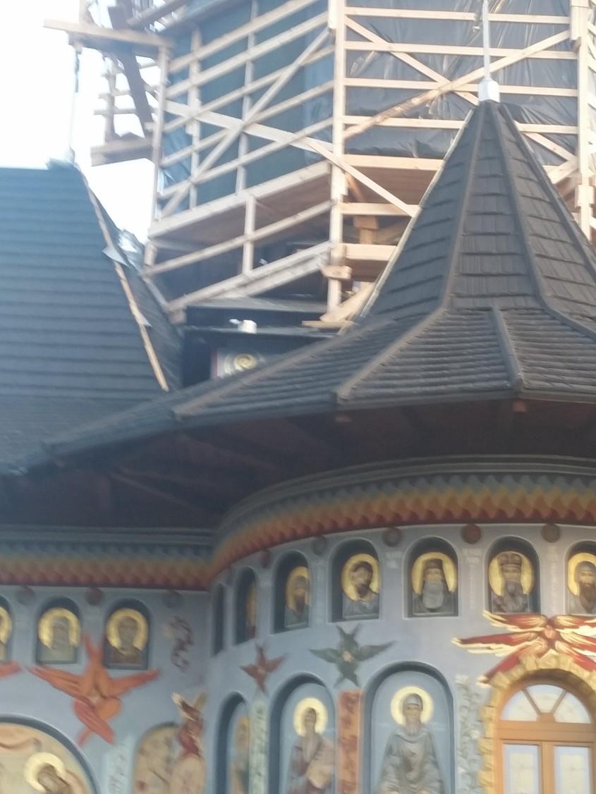 Lucrarile Expo Test Construct continua la Manastirea Alexandru Vlahuta din judetul Vaslui - Lucrarile Expo Test