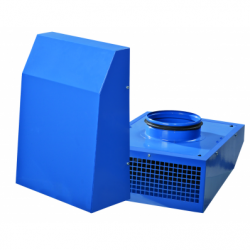 Ventilator centrifugal in-line diam 200mm - Ventilatie industriala ventilatoare centrifugale