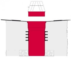 Sistem multiplu de scurgere KRASO - Guri de scurgere terase