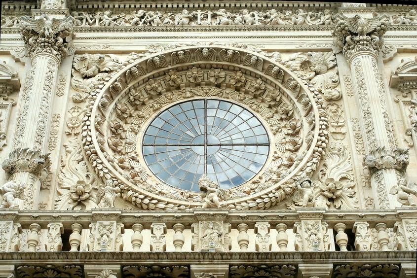 Bazilica Santa Croce, Florenta - detaliu - Lectia de arhitectura - emblemele stilului baroc