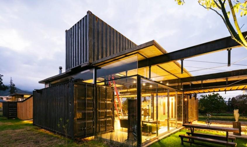 Casa RDP - O casa din containere se monteaza si se demonteaza in trei timpi
