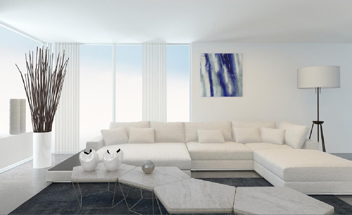 Peretii albi o sugestie clasica dar de ce for Minimalist white room