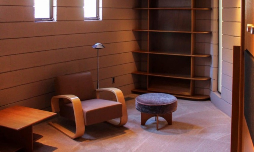 Casa Norman Lykes - Ultimul proiect al lui Frank Lloyd Wright scos la vânzare pentru 3