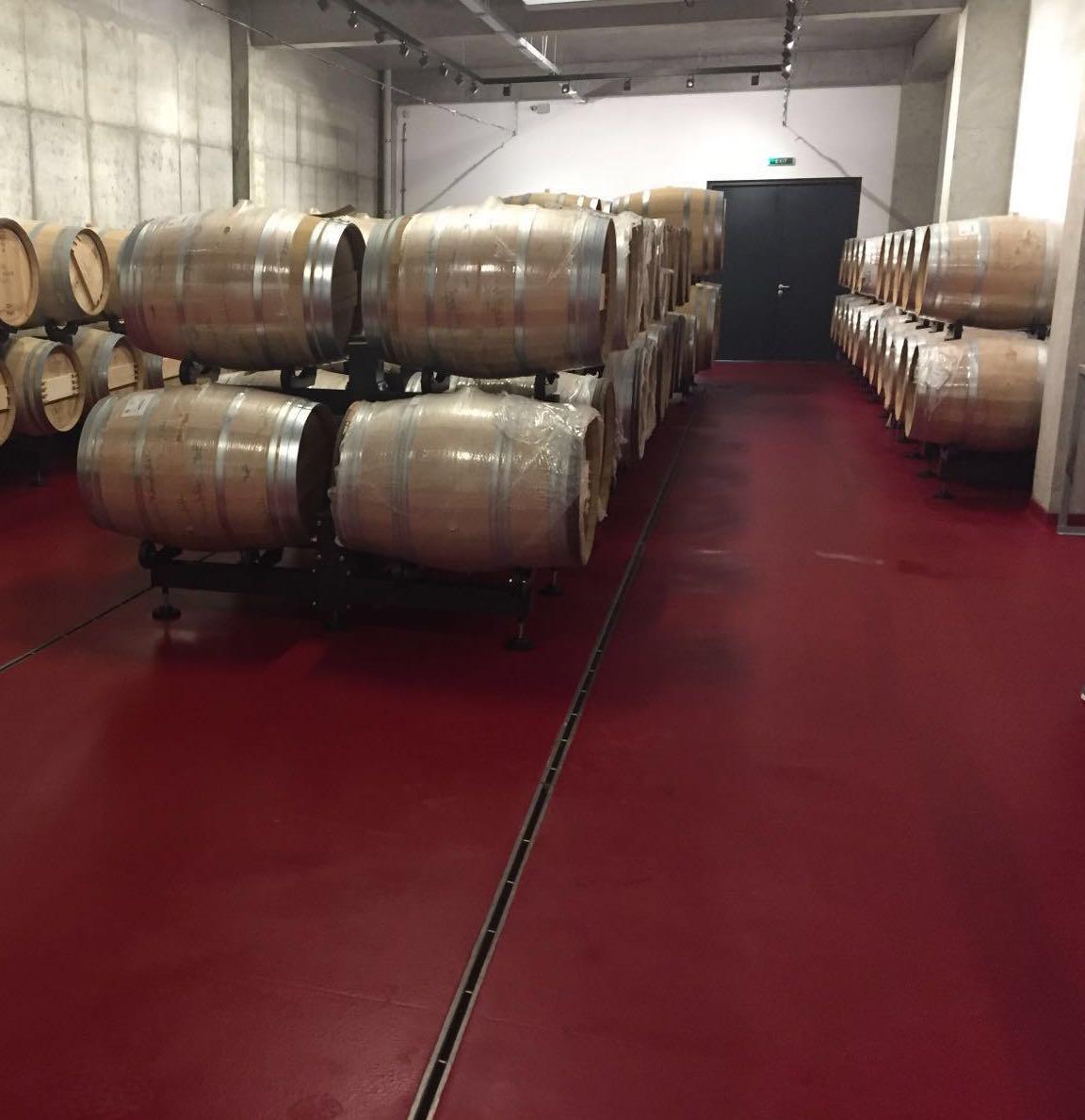 Depozitul de produs finit al cramei de vin - Unify Co Ltd - lucrari de pardoseli