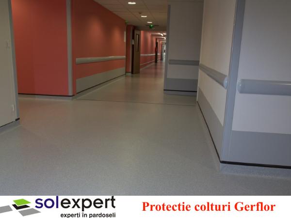 Protectie colturi - Sistemele de protectie pereti si balustrade Gerflor - solutia ideala pentru spitale si
