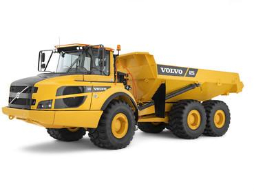 Dumper, camion articulat - Volvo A25G - Camioane articulate Volvo