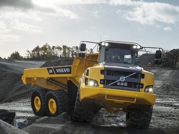 Dumper, camion articulat - Volvo A30G - Camioane articulate Volvo