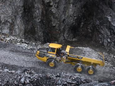 Dumper, camion articulat - Volvo A35G - Camioane articulate Volvo