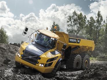 Dumper, camion articulat - Volvo A40G - Camioane articulate Volvo