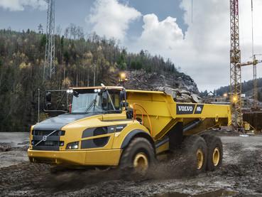 Dumper, camion articulat - Volvo A40G FS - Camioane articulate Volvo