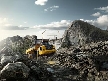 Dumper, camion articulat - Volvo A35G FS - Camioane articulate Volvo