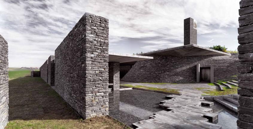 Moscheea Sancaklar - Arhitecti din Austria Croatia Grecia Romania si Turcia castiga Premiile Arhitext East Centric