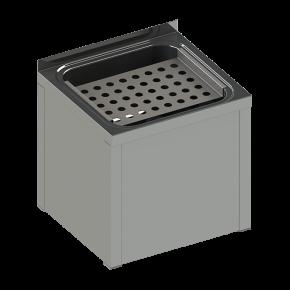 Spalator stativ din otel inox pentru curatenie - SLVN 03A - Lavoare din otel inox pentru curatenie